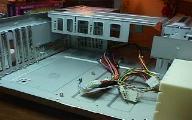 Begin assembly empty case