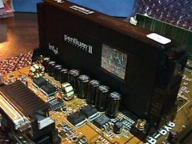 P-2 CPU on mainboard